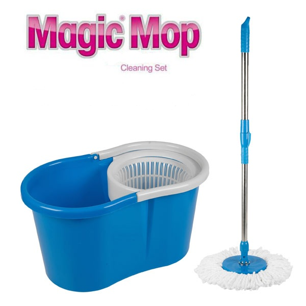 how to change mop on spin mop