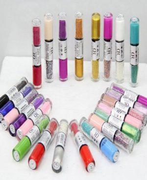 Pack of 24 Nail Art Nail Polish Set Pakistan