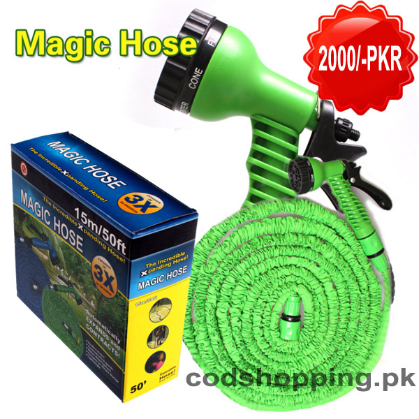 Magic hose pipe pakistan magic hose pipe price pakistan for Gardening tools karachi