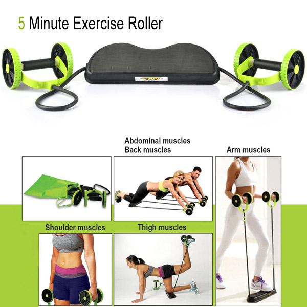 5 minute exercise roller pakistan 5 minute exercise for Ab salon equipment reviews