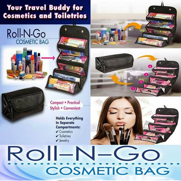 Roll N Go Cosmetic Bag Pakistan