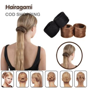 hairagami hair bun pakistan