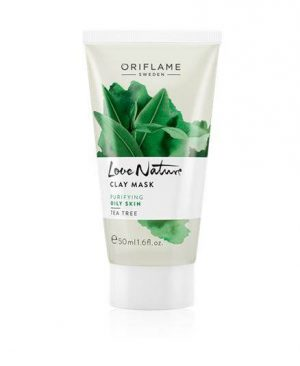 Oriflame Love Nature Clay Mask Tea Tree for Oily Skin